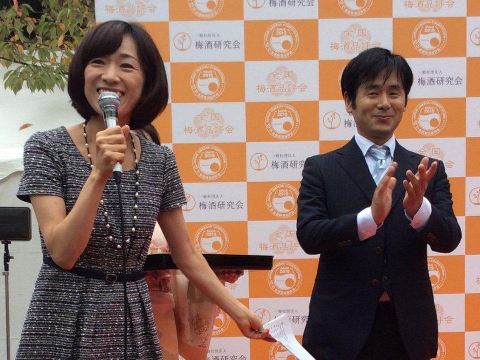 全国梅酒品評会2015 浅草神社にて