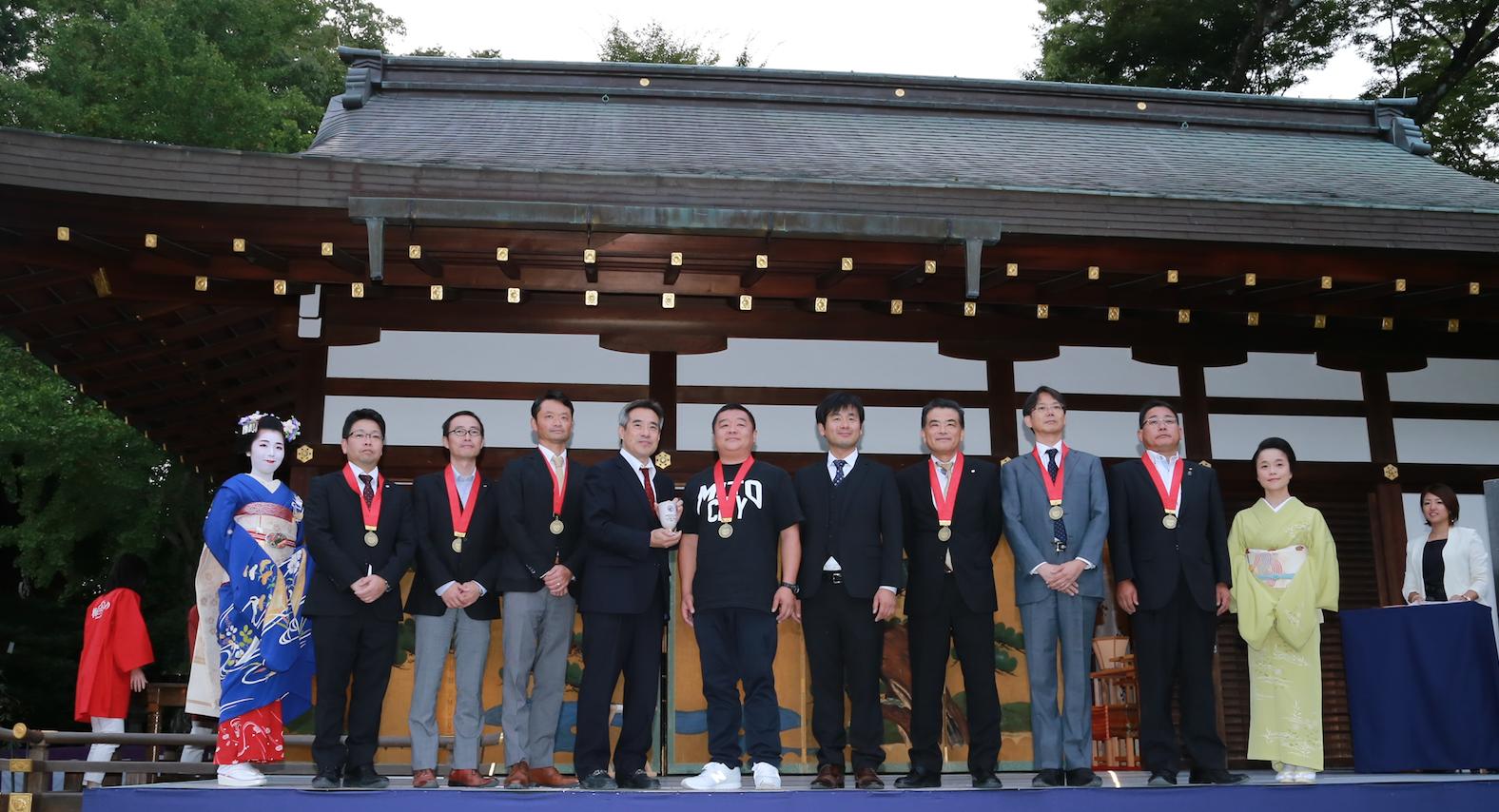 2017年京都にて年に一度の全国梅酒品評会の表彰式